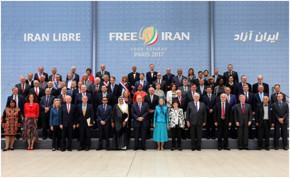 Congressional Members Gathering at Free Iran - 2017