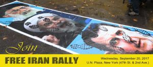 Free Iran Rally Poster