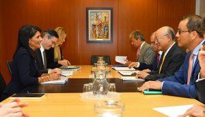 Ambassador Nikki Haley Visits IAEA