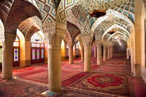 Prayer Hall of Nasir al-Molk Mosque, Iran