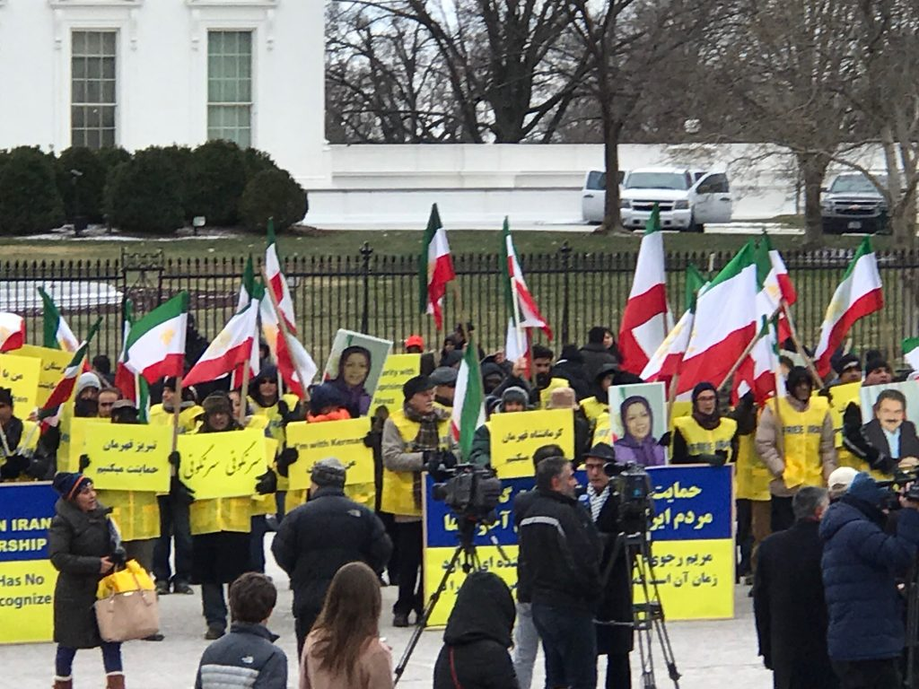 Iranian Americans Express Solidarity with Iranian People
