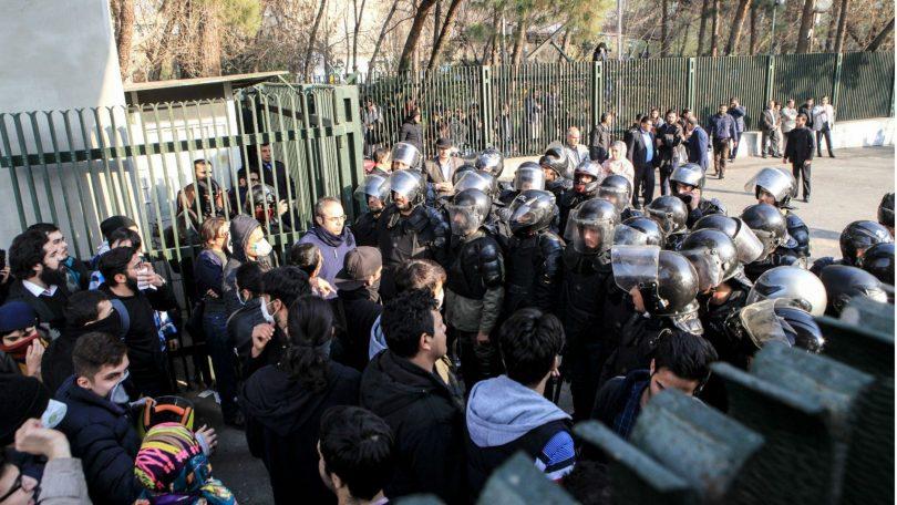 Protest In Iran 17-18
