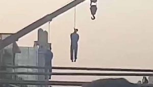 Public Hanging in Iran