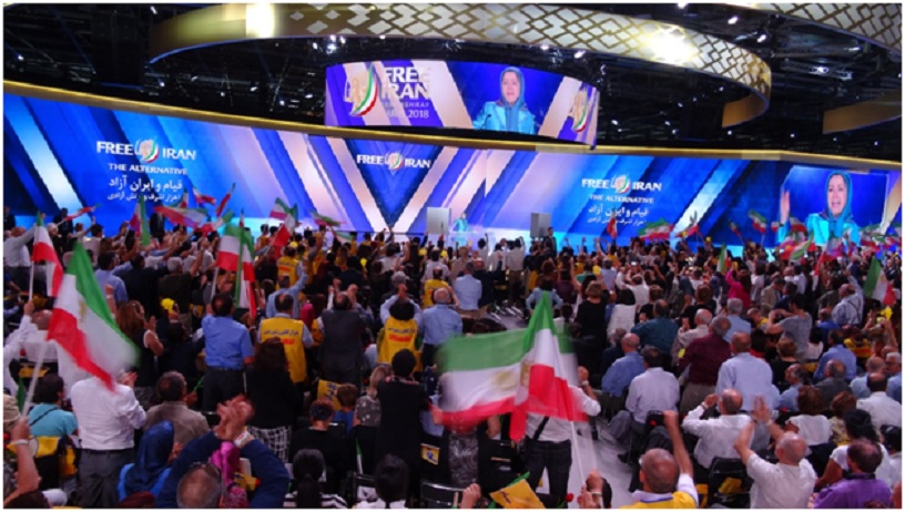 Free Iran Grand Gathering in Paris