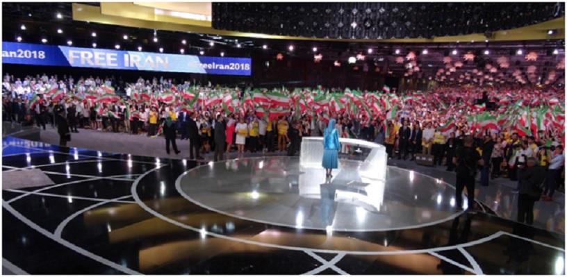 Maryam Rajavi in Paris