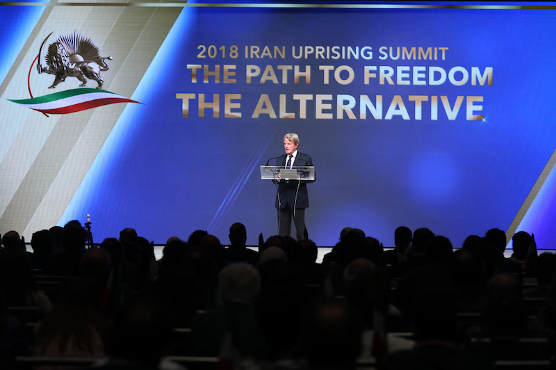 10) 2018 Iran uprising Summit