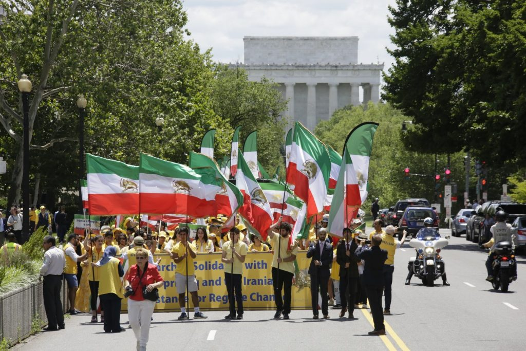 Solidarity March 2019 - 23rd St. - Iranian American Communities Solidarity March with Iranian People - June 21, 2019 - Washington DC from DOS to the White House (39)
