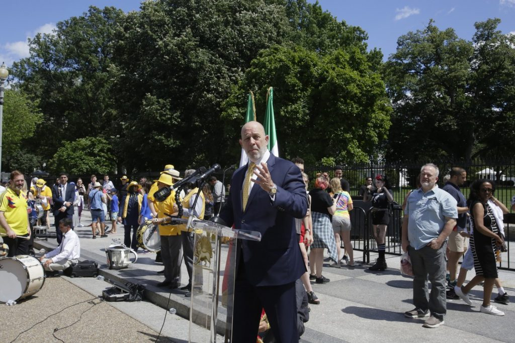 Solidarity March 2019 - Amb. Adam Ereli Speaking in front the White House (46)