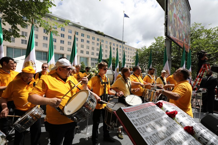 Solidarity March 2019 - Iranian American Communities Solidarity March with Iranian People for Regime Change - June 21, 2019 - Washington DC across DOS (19)