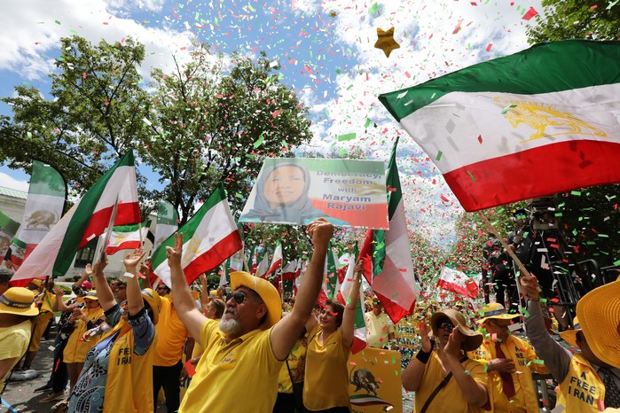 Solidarity March 2019 - Iranian American Communities Solidarity March with Iranian People for Regime Change - June 21, 2019 - Washington DC across DOS (20)