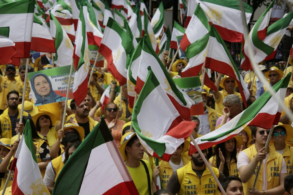 Solidarity March 2019 - Iranian American Communities Solidarity March with Iranian People for Regime Change - June 21, 2019 - Washington DC across DOS and White House (15)