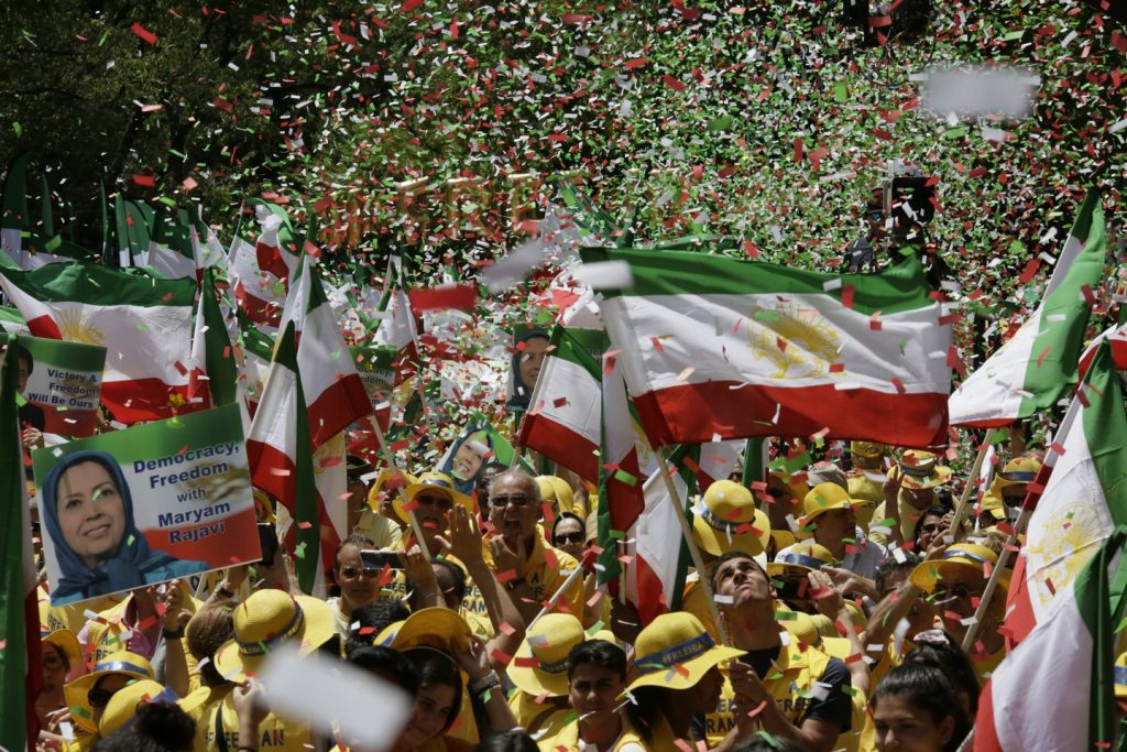 Solidarity March 2019 - Iranian American Communities Solidarity March with Iranian People for Regime Change - June 21, 2019 - Washington DC across DOS and White House (18)