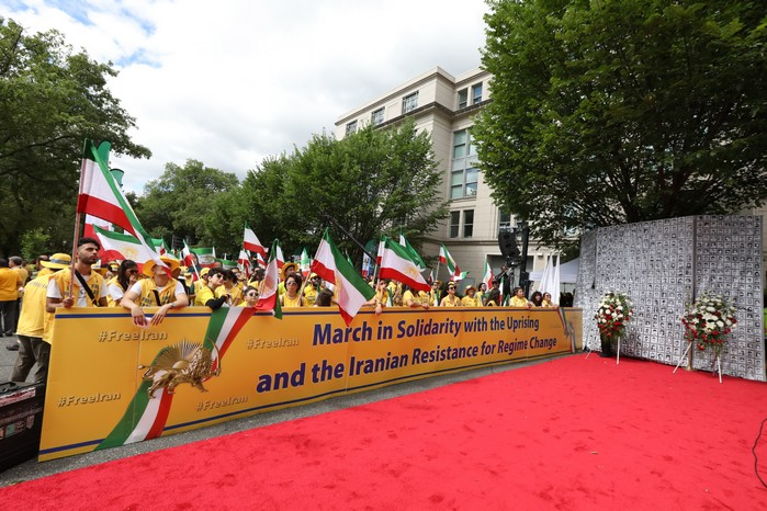 Solidarity March 2019 - Iranian American Communities Solidarity March with Iranian People for Regime Change - June 21, 2019 - Washington DC across DOS and White House (24)