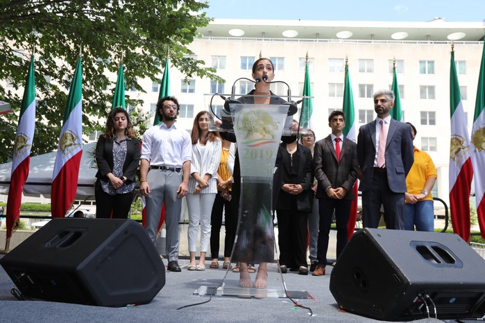 Solidarity March 2019 - Iranian American Communities Solidarity March with Iranian People for Regime Change - June 21, 2019 - Washington DC across DOS and White House (35)