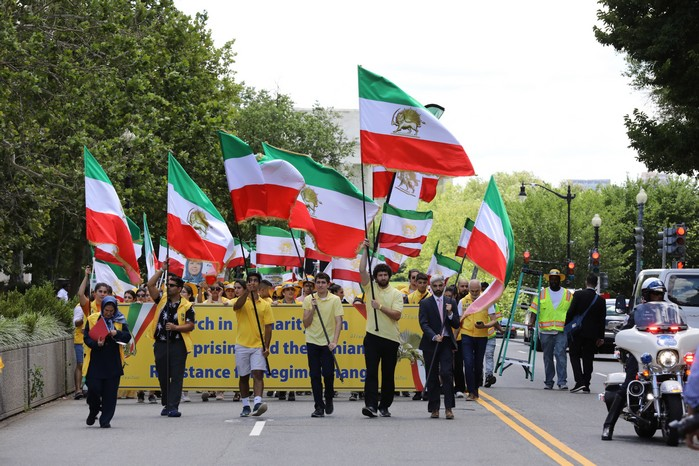 Solidarity March 2019 - Iranian American Communities Solidarity March with Iranian People for Regime Change - June 21, 2019 - Washington DC across DOS and White House (4)