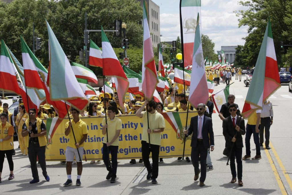 Solidarity March 2019 - Iranian American Communities Solidarity March with Iranian People for Regime Change - June 21, 2019 - Washington DC across DOS and White House (40)