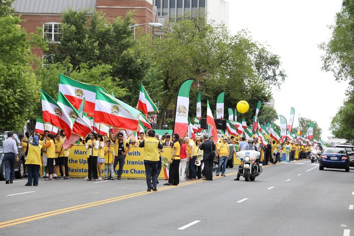 Solidarity March 2019 - Iranian American Communities Solidarity March with Iranian People for Regime Change - June 21, 2019 - Washington DC across DOS and White House (5)