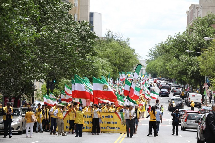 Solidarity March 2019 - Iranian American Communities Solidarity March with Iranian People for Regime Change - June 21, 2019 - Washington DC across DOS and White House (7)