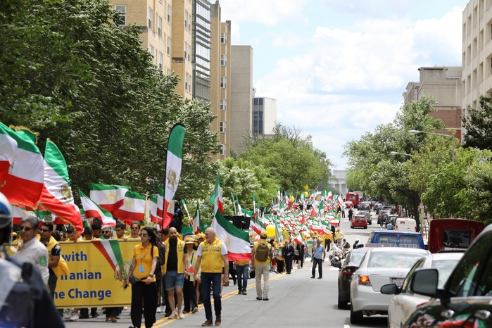 Solidarity March 2019 - Iranian American Communities Solidarity March with Iranian People for Regime Change - June 21, 2019 - Washington DC across DOS and White House (8)