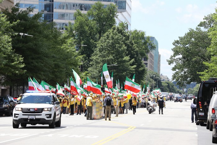Solidarity March 2019 - Iranian American Communities Solidarity March with Iranian People for Regime Change - June 21, 2019 - Washington DC across DOS and White House (9)