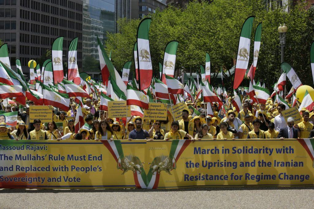 Solidarity March 2019 - Iranian American Communities Solidarity March with Iranian People for Regime Change - June 21, 2019 - Washington DC across DOS(45)