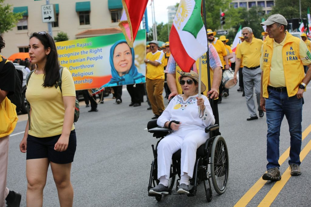 Solidarity March 2019 - Iranian American Communities Solidarity March with Iranian People for Regime Change - June 21, 2019 - Washington DC from DOS to the White House (11)