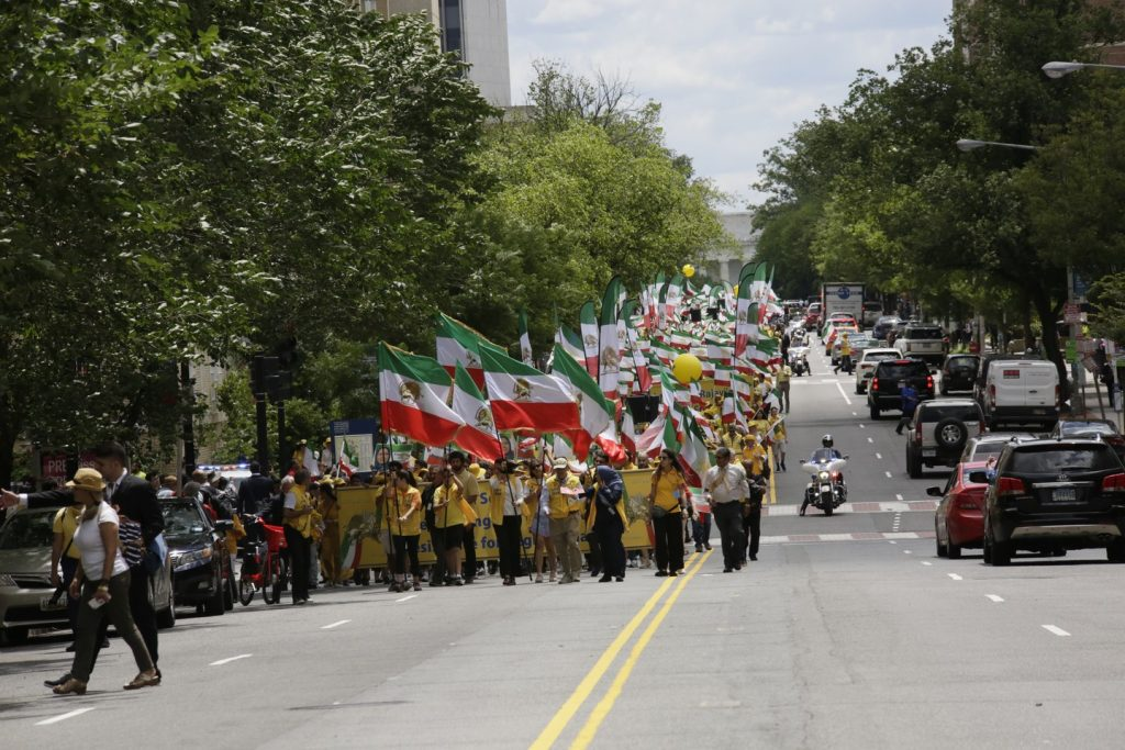 Solidarity March 2019 - Pennsylvania Ave. - Iranian American Communities Solidarity March with Iranian People - June 21, 2019 - Washington DC from DOS to the White House (42)