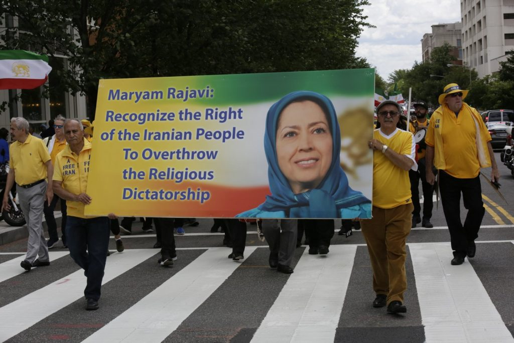 Solidarity March 2019 - Pennsylvania Ave. - Iranian American Communities Solidarity March with Iranian People - June 21, 2019 - Washington DC from DOS to the White House (43)