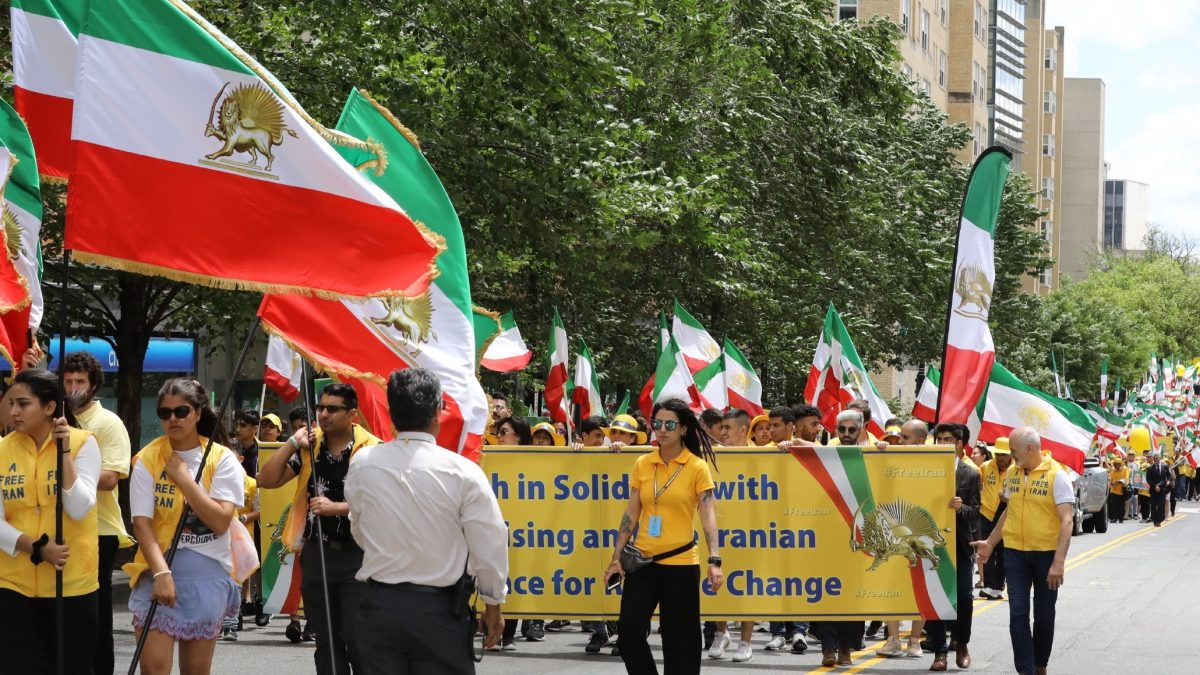 Solidarity March with Iranian People