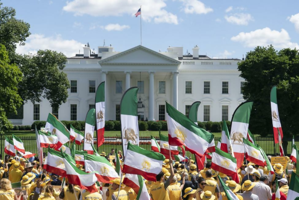 Iranian Americans rally in Washington