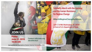 Solidarity March for a Free Iran