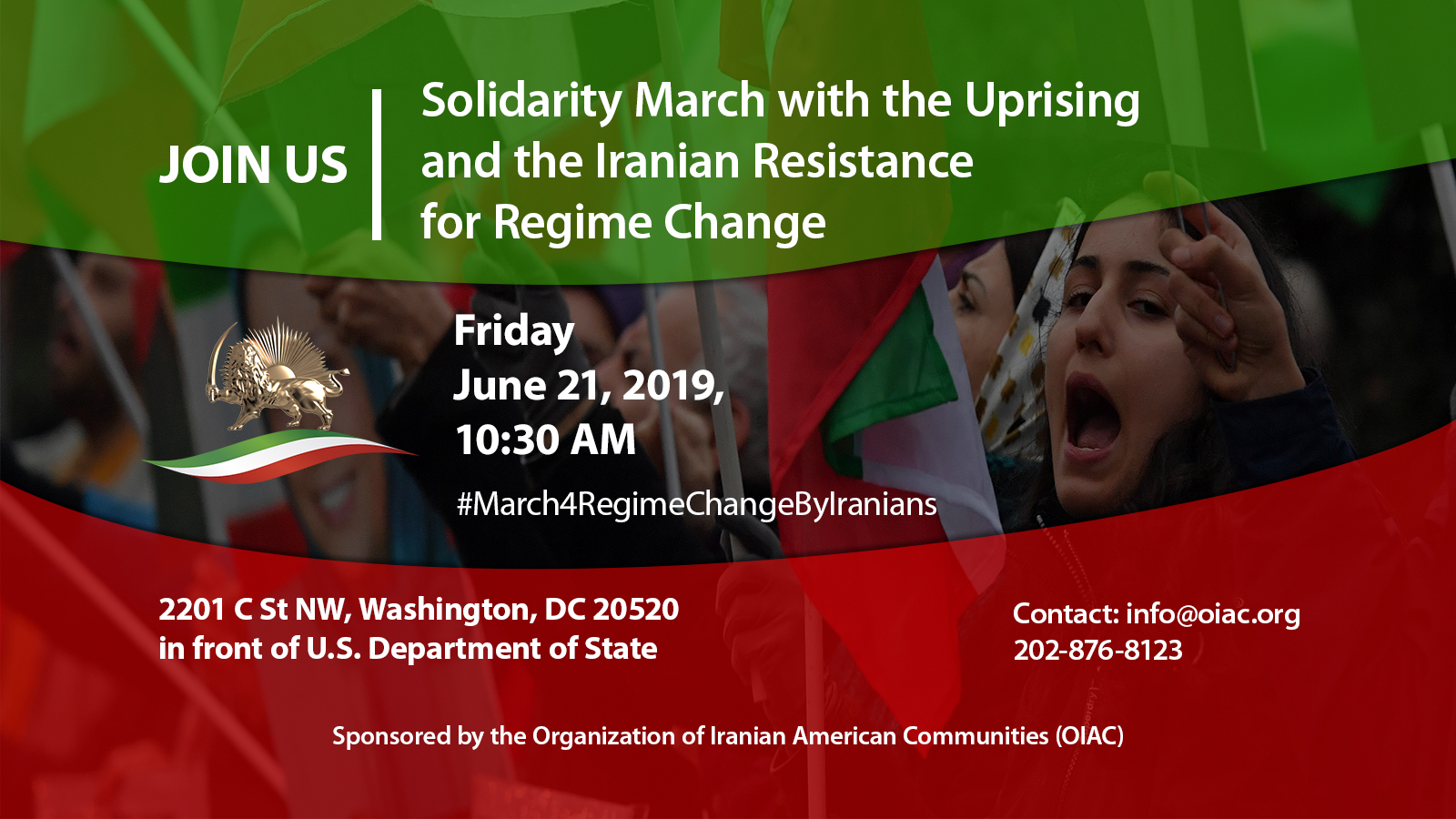 Solidarity March with Iran Uprising