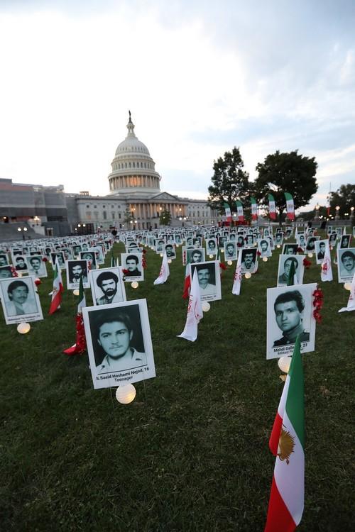 13_OIAC Iran Human Rights Exhibition, U.S. Capitol Hill, Sept 12, 2019