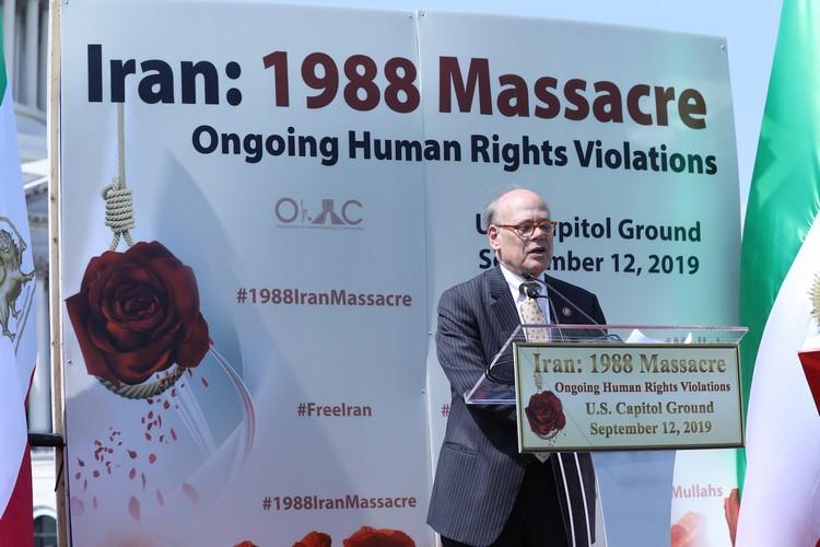 19__Congressman Steve Cohen at OIAC Iran Human Rights Exhibition, U.S. Capitol Hill, Sept 12, 2019.J