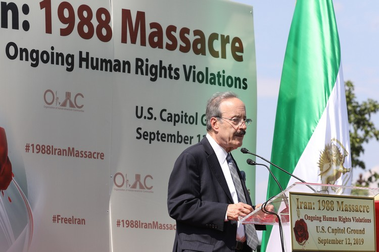 1_Chairman Eliot Engel at OIAC Iran Human Rights Exhibition, U.S. Capitol Hill, Sept 12, 2019.J