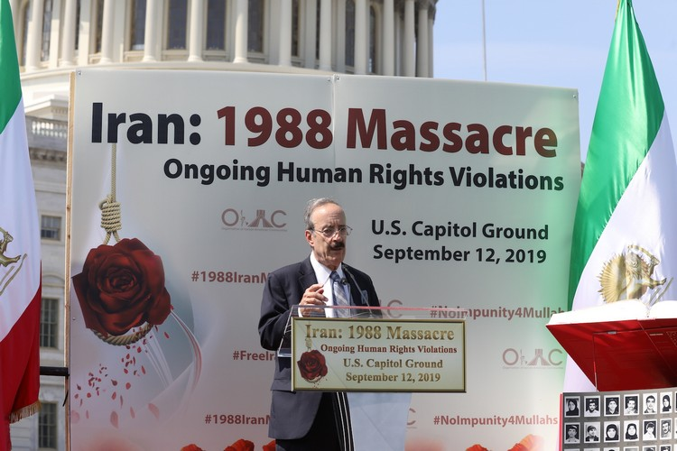 24_Chairman Eliot Engel at OIAC Iran Human Rights Exhibition, U.S. Capitol Hill, Sept 12, 2019.J