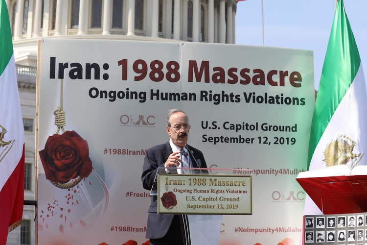 25_Chairman Eliot Engel at OIAC Iran Human Rights Exhibition, U.S. Capitol Hill, Sept 12, 2019.J