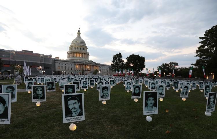 35_OIAC Iran Human Rights Exhibition, U.S. Capitol Hill, Sept 12, 2019.J