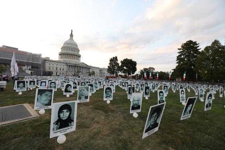 7_OIAC Iran Human Rights Exhibition, U.S. Capitol Hill, Sept 12, 2019