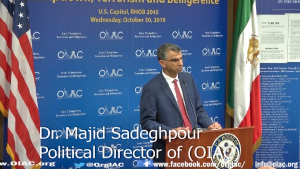 Dr. Majid Sadeghpour Political Director of OIAC