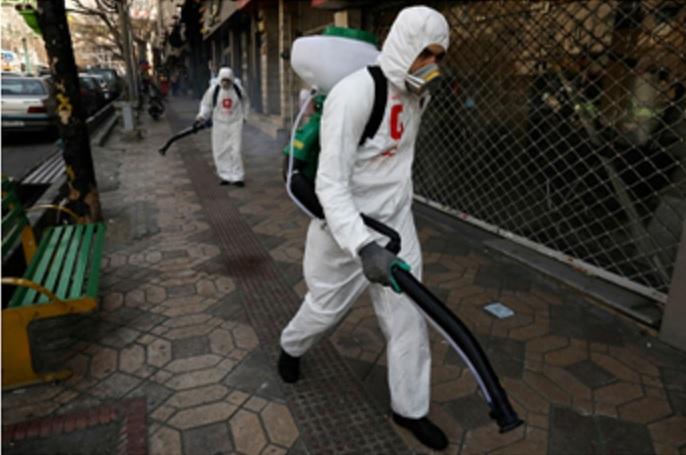 Coronavirus Bomb Exploding Across the Middle East