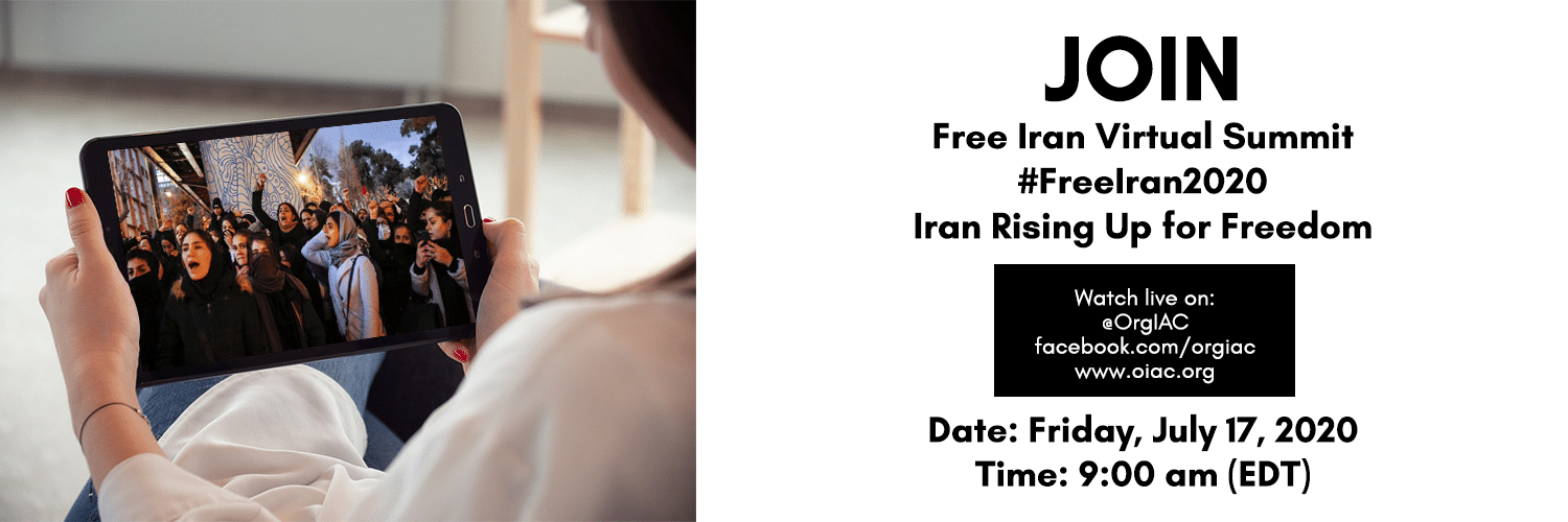 Join Free Iran Virtual Summit