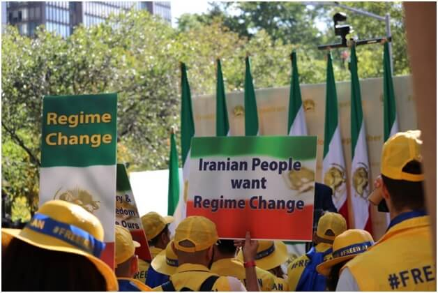 iranian people want regime change