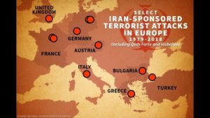 iran terror in europe