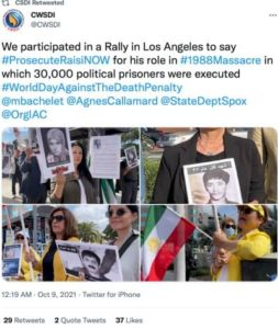 political prisoners executions in iran