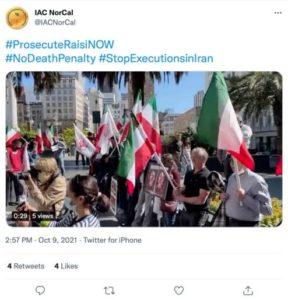 stop executions iran